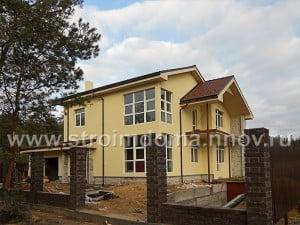 Строительство коттеджей, домов, дач и бань под ключ по