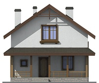 Проект дома от А-Строй компания в Нижнем Новгороде