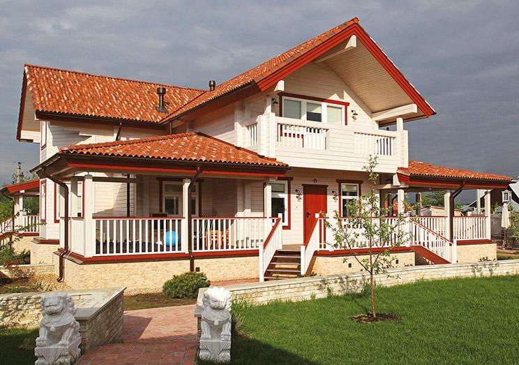 Проект и строительство деревянного дома в Нижнем Новгороде