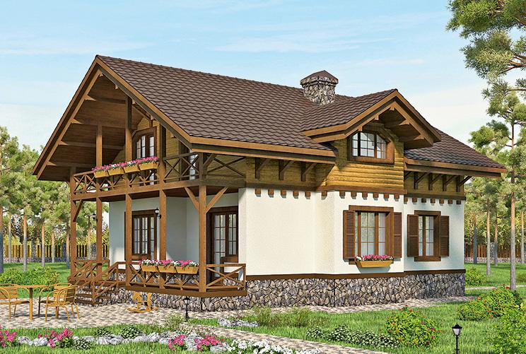 Дом из газобетона в Нижнем Новгороде