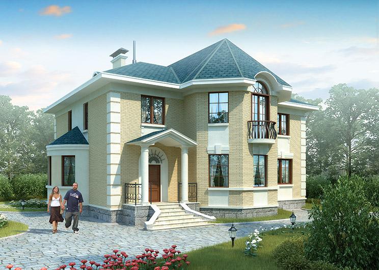 Строительство кирпичных коттеджей в Нижнем Новгороде