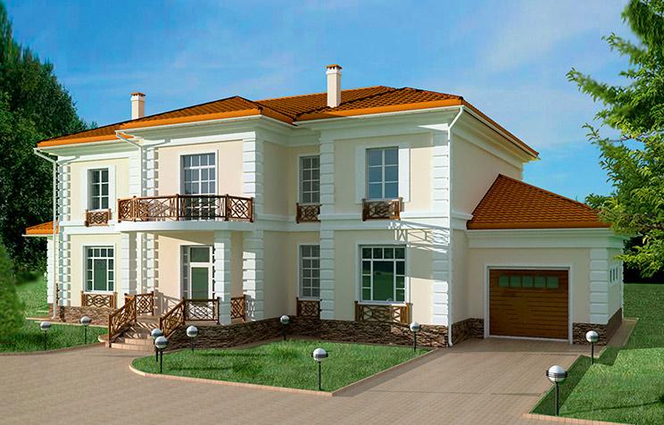 Кирпичные дома и коттеджи в Нижнем Новгороде