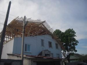 Строительство мансарды под ключ