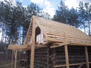 монтирование крыш