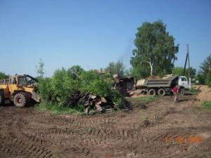 Подготовка строительной площадки